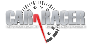 Car and Racer Logo